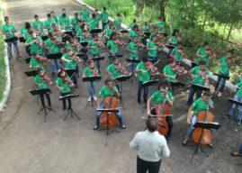 Orquestra transforma vida de crianças e adolescentes da zona rural de Glória do Goitá/PE