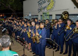 Orquestra Jovem de Palmas/TO emociona o público no encerramento das comemorações do aniversário da Guarda Metropolitana