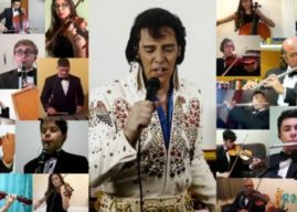Projeto de Artur Nogueira/SP grava vídeo em tributo a Elvis Presley