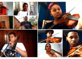 Orquestra de estudantes celebra Dia Mundial do Meio Ambiente no Rio