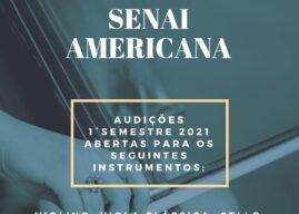 Orquestra Filarmônica SENAI Americana realiza audições para novos integrantes