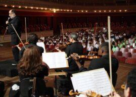 Parceria musical une Sinfônica de Santos e Orquestra Clássica de Portugal